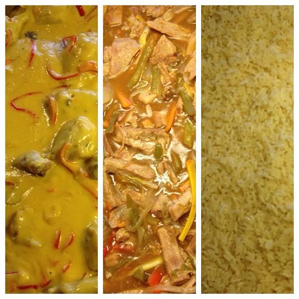 Pollo A La Mostaza, Matambre A La Criolla, Arroz Blanco @ Fortin Cataratas