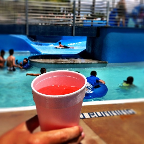 Pink Lemonade @ The Wave Waterpark