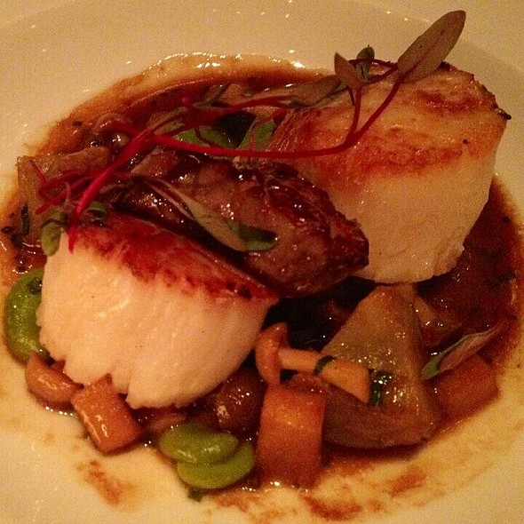 Diver Scallops and Foie Gras - Tocqueville, New York, NY