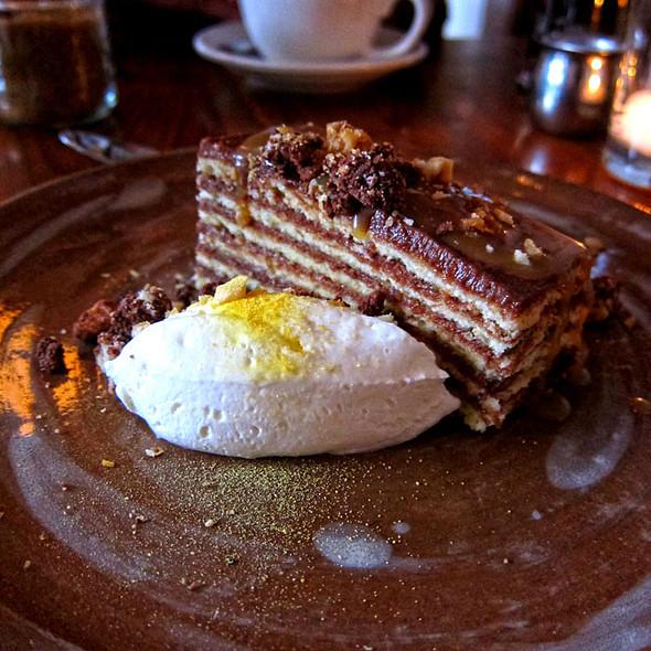 Chocolate Dobos Torte @ Bar Tartine