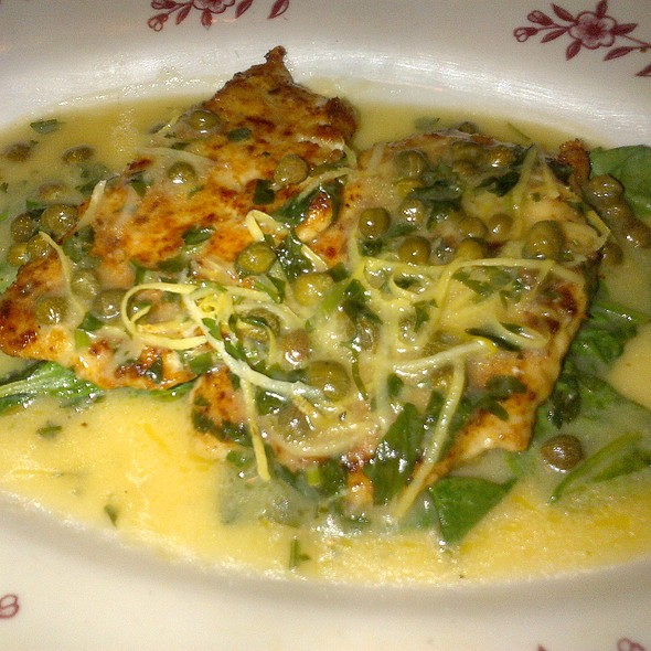 Chicken Piccata - Maggiano's - Cherry Hill