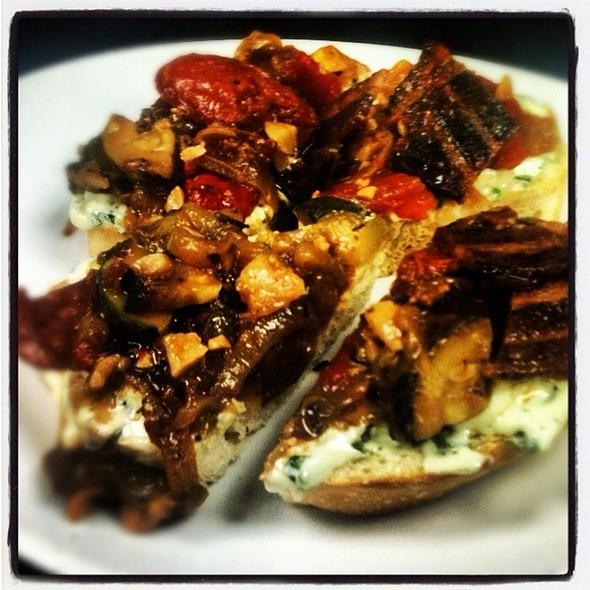 Farm House Bruschetta @ The Oceanaire Seafood Room