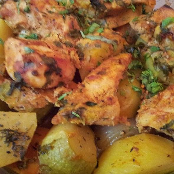 Chicken Tikka Plate @ Home
