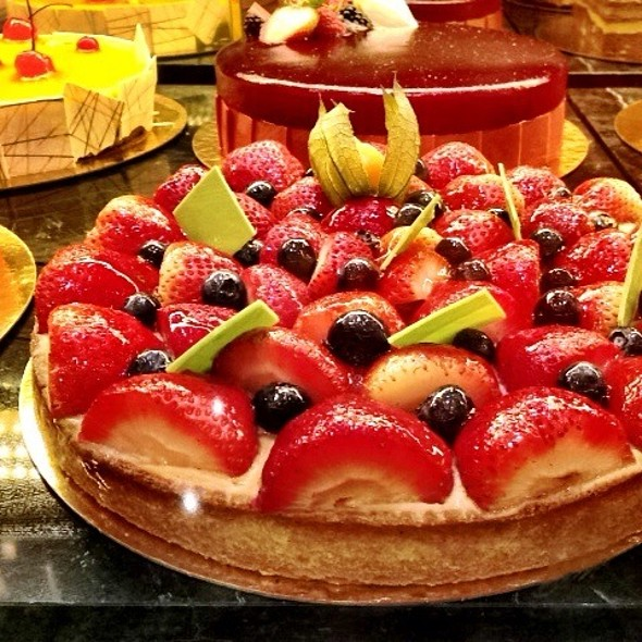 Strawberry Tart @ TWG Tea Salon & Boutique (Marina Bay Sands) #1