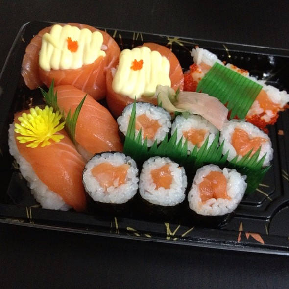 Assorted Sushi @ Jasons Market Place
