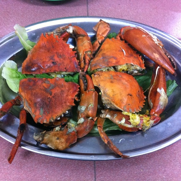 Salted Crabs