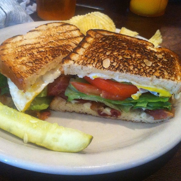 BLT With A Fried Egg And Avocado @ Norma Rae's