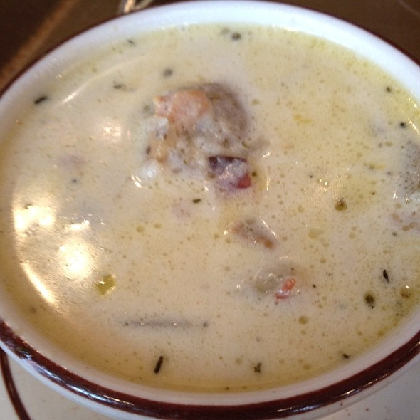 Clam Chowder @ Sam La Grassa's