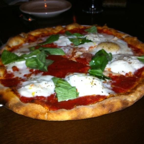 Margherita Pizza with Burrata & Egg @ Beretta