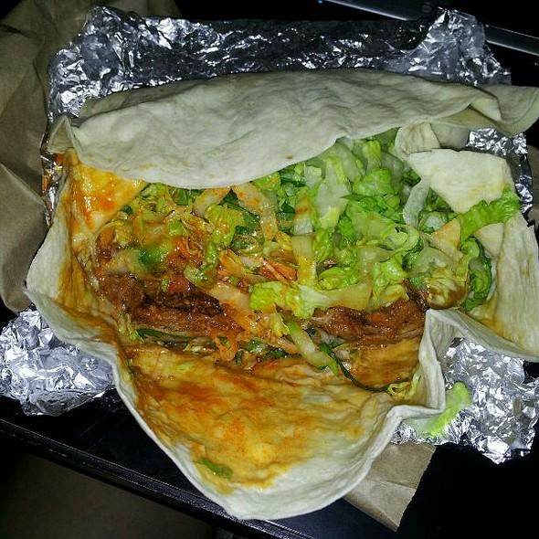 KB Wrap @ Kimchi Bbq Taco Truck