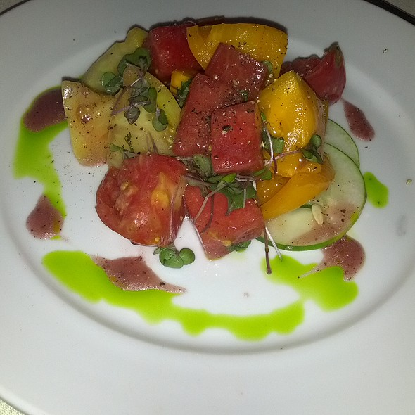 Heirloom Tomato Salad - Michael Smith, Kansas City, MO