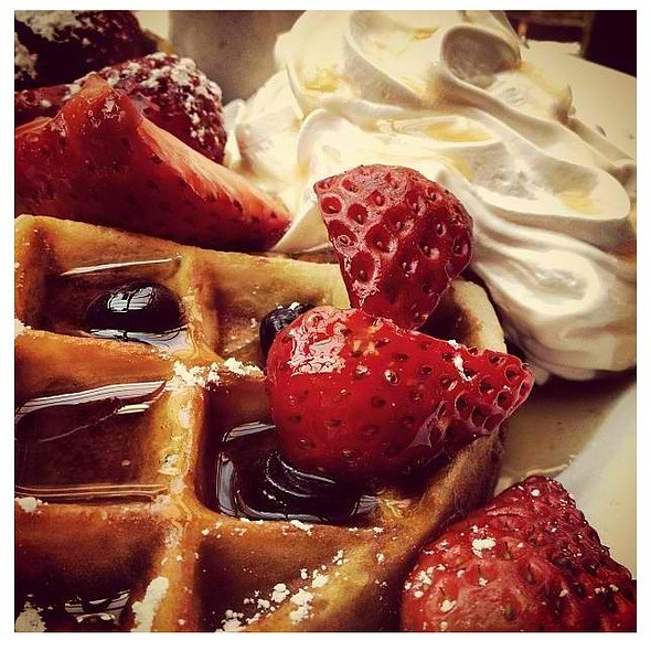 Belgian Waffle @ Squat And Gobble