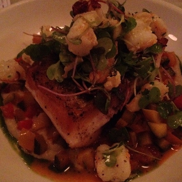 Nantucket Wild Striped Bass @ Neptune Oyster