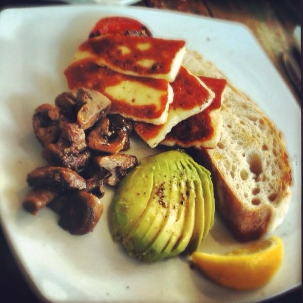 Haloumi Breakfast @ Foxy Bean