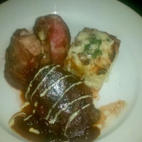 Apple-stuffed Duck Breast @ Grotto