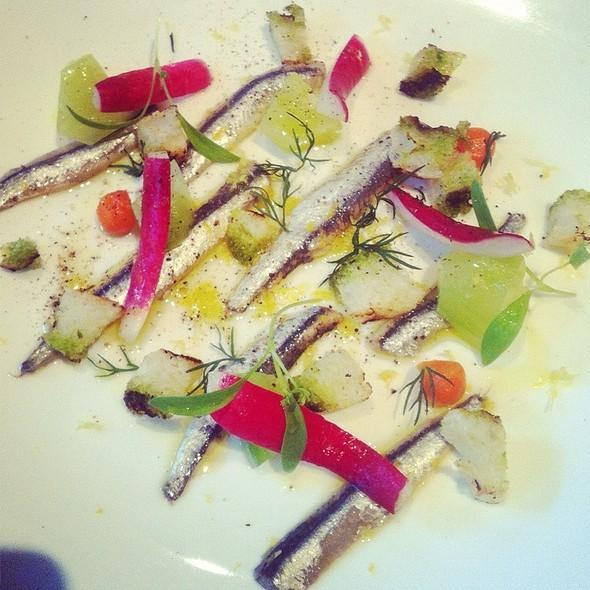 Anchovies @ Restaurant Le St-Urbain