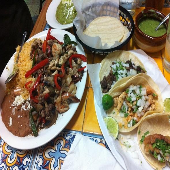 Fajita Torta And Taco @ Taqueria Veracruzana