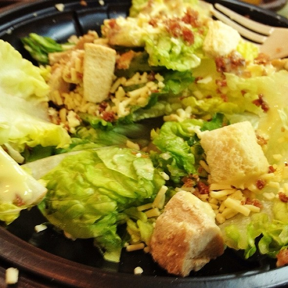 Mixed Ceasar Salad @ Wendy's