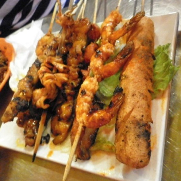Grilled Meat & Seafood
