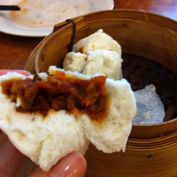BBQ Pork Bun (char siu bao) @ Noble Restaurant