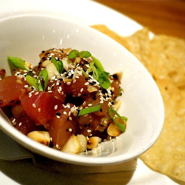 Tuna Tartar w/ Macadamia Nuts - Westside Tavern, Los Angeles, CA