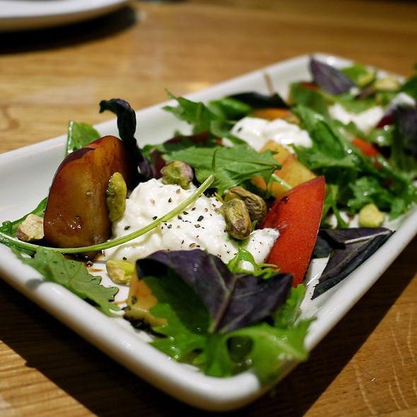 Nectarine & Gioia Burrata Salad - Westside Tavern, Los Angeles, CA