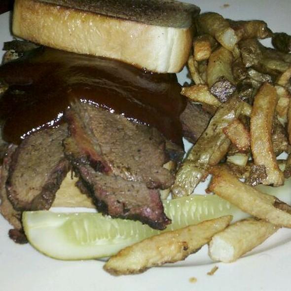 Beef Brisket Sandwich @ Porkchop