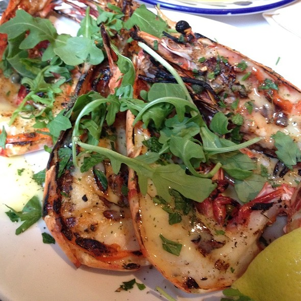 Grilled Prawn - Avra Estiatorio on 48th, New York, NY