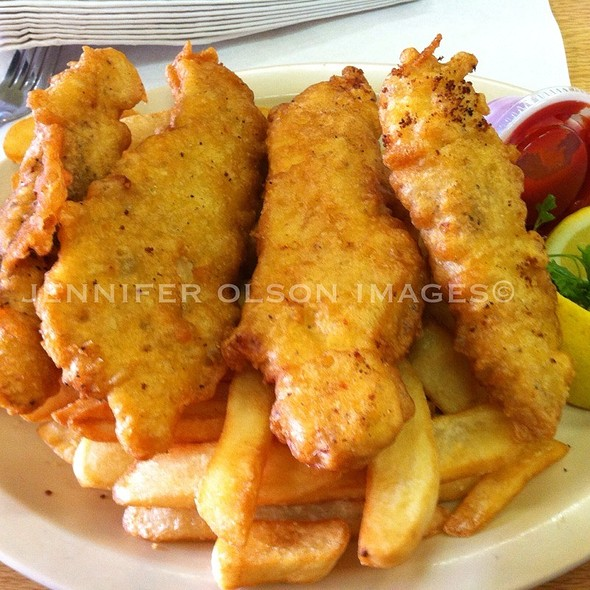 Halibut Fish and Chips @ Pismo Fish & Chips & Seafood