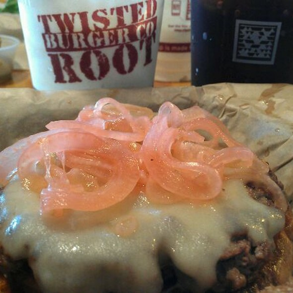 Buffalo Burger @ Twisted Root Burger Co.