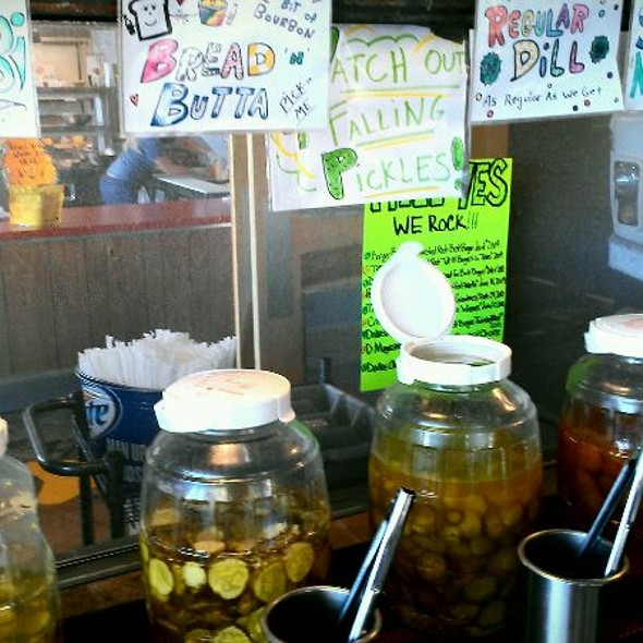 Pickle Bar @ Twisted Root Burger Co.