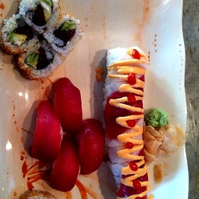 Tuna Sushi And Sooner Roll