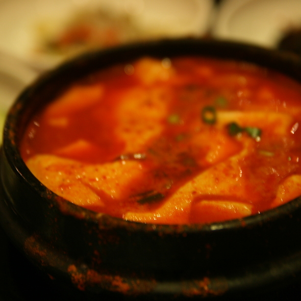 Kimchi Jigae @ Chosun Galbi