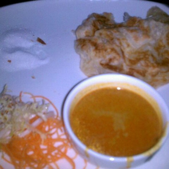 Indian Pancake W/Curried Chicken - Amber Upper East, New York, NY