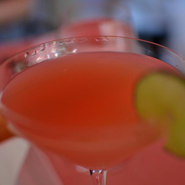Blueberry ginger peach juice @ George Restaurant