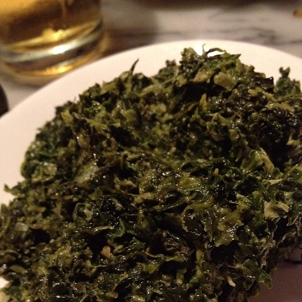 Creamed Spinach - The Stinking Rose, Beverly Hills, CA