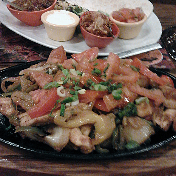 Chicken Fajitas @ Amigos all day Mexican restaurant cafe