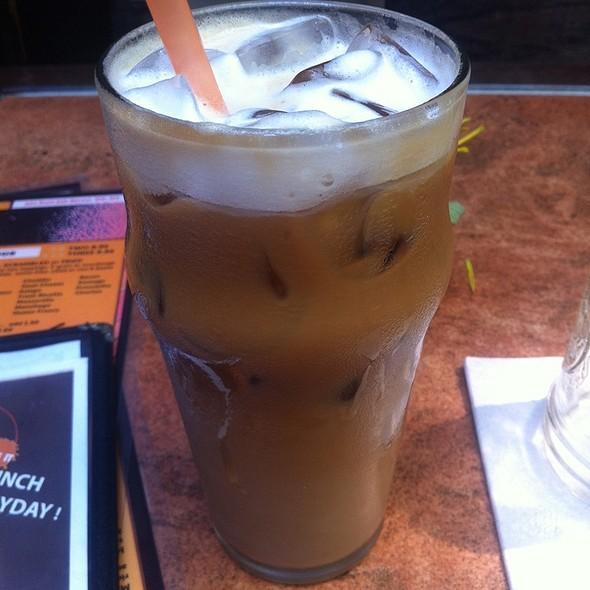 Iced Latte @ Mud coffee