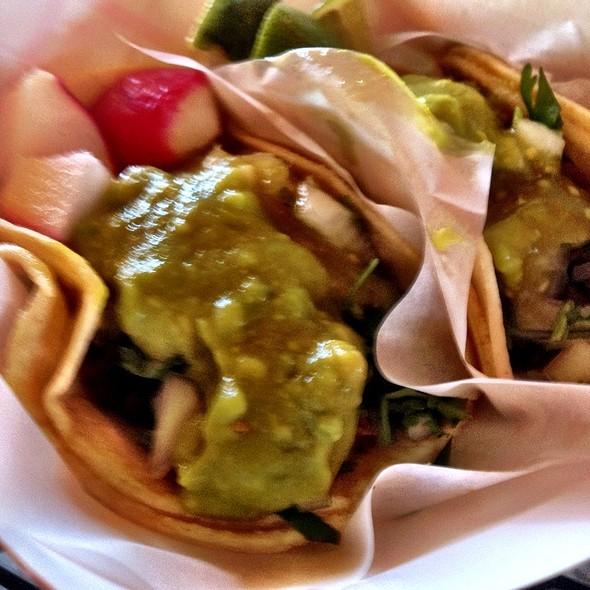 Carne Asada Tacos @ Chando's Taco