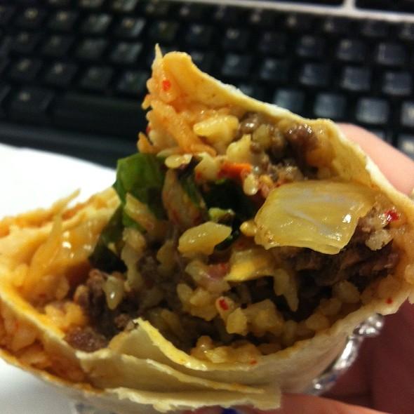 Spicy Bulgogi Burrito