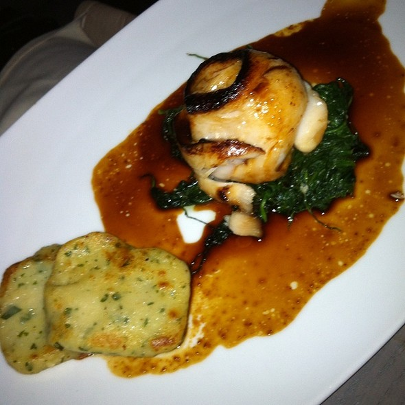 Cod With Wilted Spinach And Gnocchi Cakes @ One