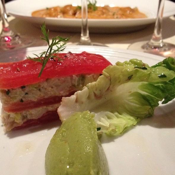 Salmon & Avocado Mille Feuille