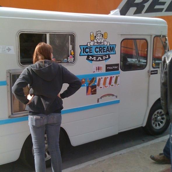 Free Ice Cream @ Ice Cream Man