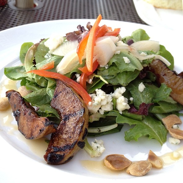 Grilled Pear Salad - Truffle Pig, Steamboat Springs, CO