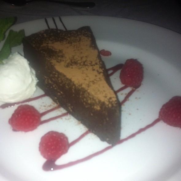 flourless chocolate cake @ The Capital Grille