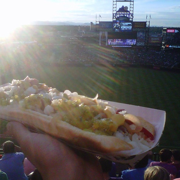 Rockie Dog @ Coors Field