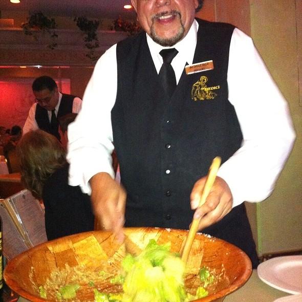 Caesar Salad - de Medici Cucina Italiana, San Diego, CA