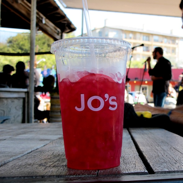 Hibiscus Ice Tea @ Jo's Hot Coffee Good Food