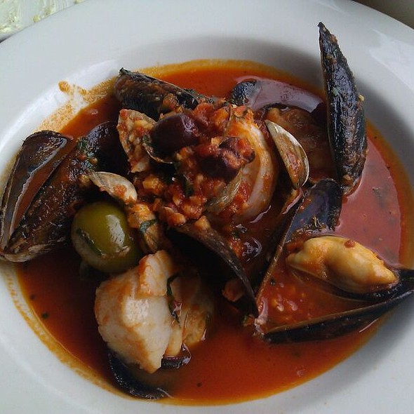 Seafood Stew @ Three Doors Down Cafe