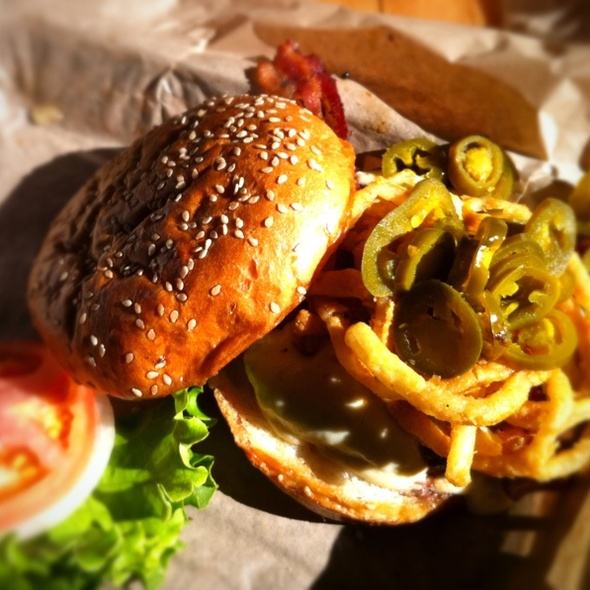 Western Burger @ Twisted Root Burger Co